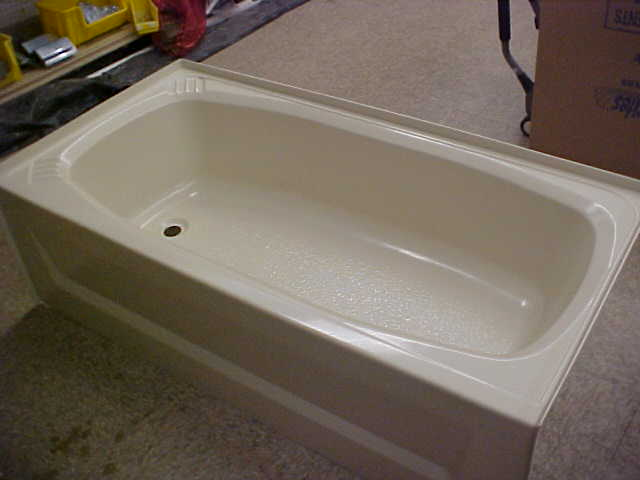 Mobile home garden tub manufactured home garden tubs for Bathtubs for manufactured homes