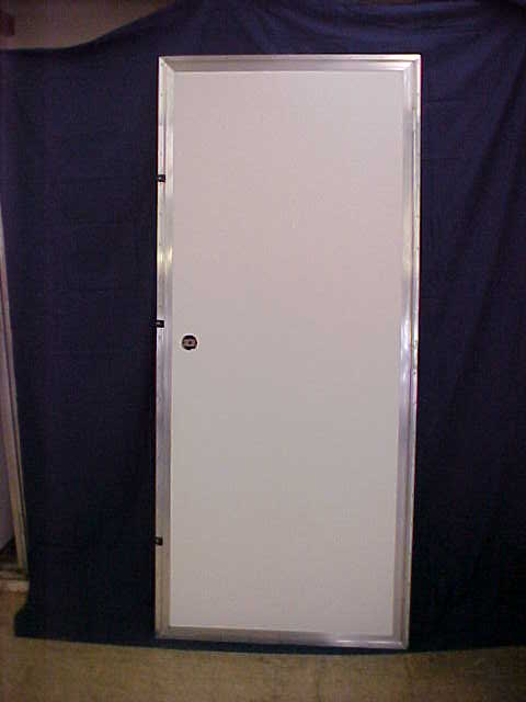 Blank Door can be hung to swing right or left.